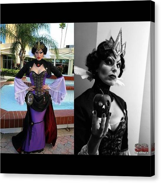 Steampunk Canvas Print - Evil Queen Yet Again Another Great by Sid Graves