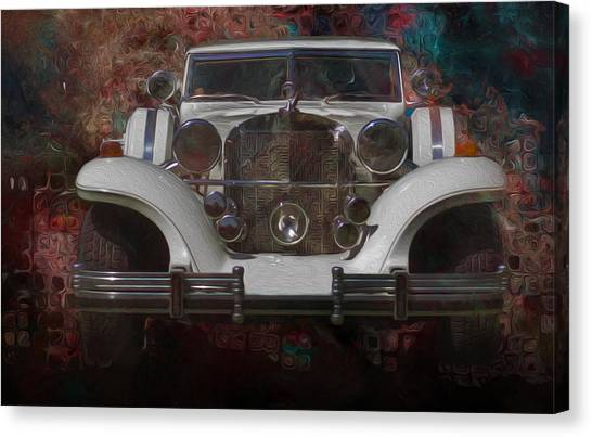 Analog Canvas Print - Excalibur by Jack Zulli