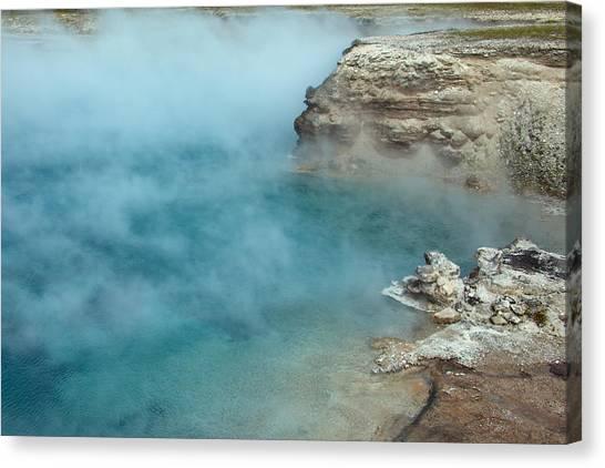 Excelsior Geyser Crater Canvas Print