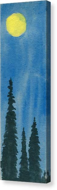 Excelsum Sol Canvas Print