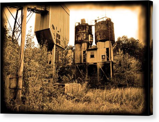 Exeter Concrete - Abandoned Canvas Print