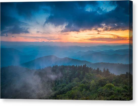 Exhale Canvas Print