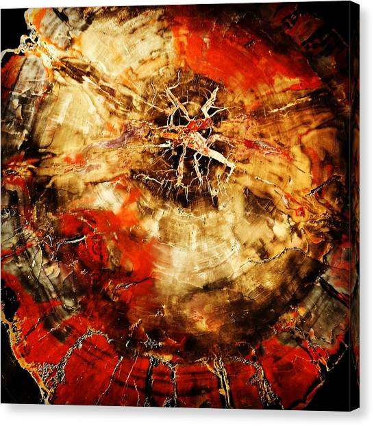 Gothic Art Canvas Print - Existence by David Lubetsky