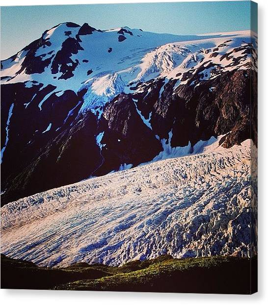 Glaciers Canvas Print - Exit Glacier, Kenai Fjords National by Bob Rives