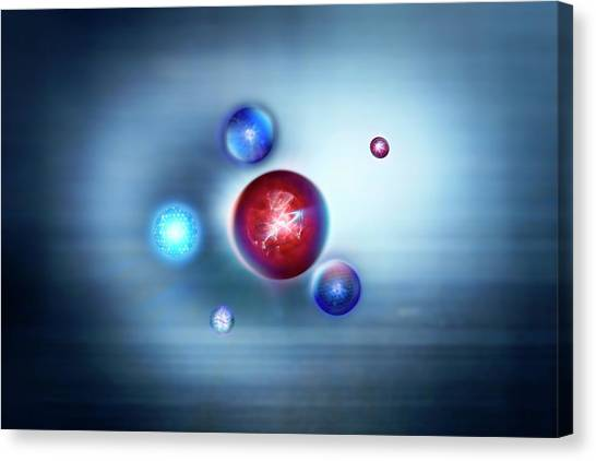 Exotic Particles Canvas Print by Richard Kail