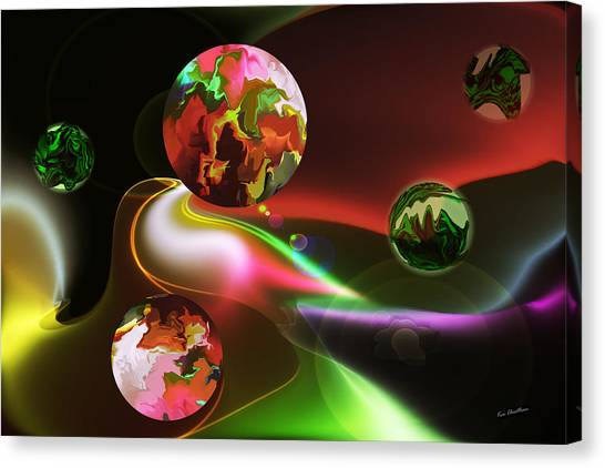 Exotic Worlds Canvas Print