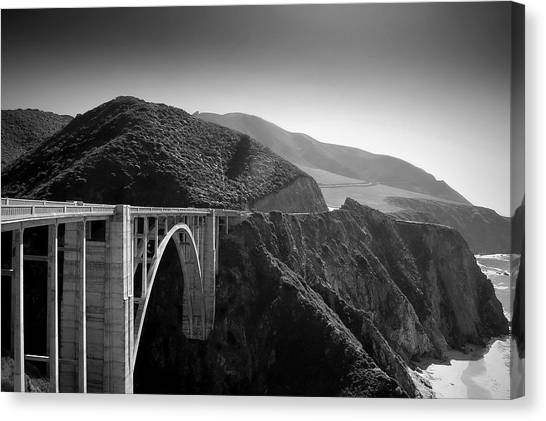 Roads Canvas Print - Explore by Mike Irwin