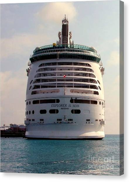 Explorer Of The Seas Canvas Print