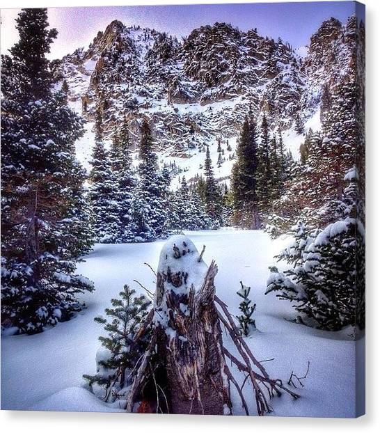 Idaho Canvas Print - Exploring The #sawtooths This Afternoon by Cody Haskell