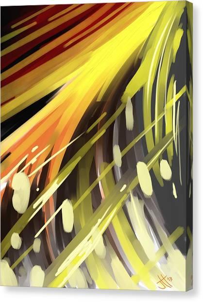 Explosion 1 Canvas Print by Jennifer Hotai