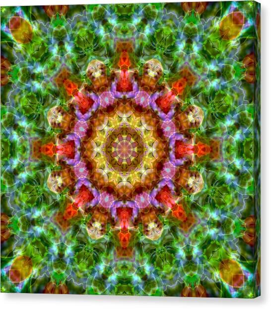 Expression Mandala Canvas Print