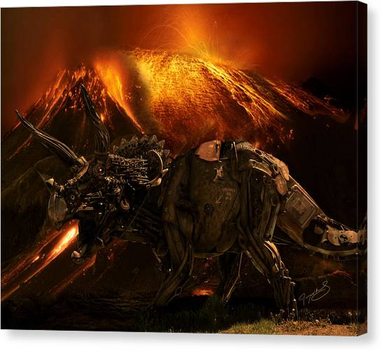 Extinction    The Second Coming Canvas Print