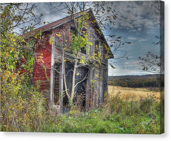 Extra Storage Canvas Print by Sharon Batdorf