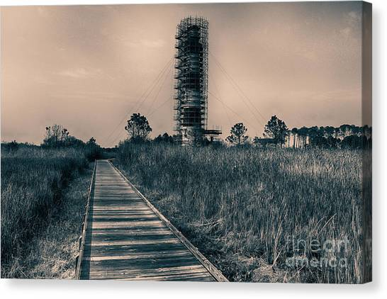 Extreme Makeover Lighthouse Edition Canvas Print