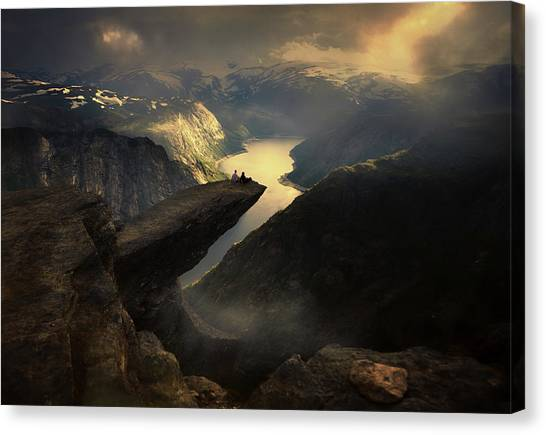View Canvas Print - Extreme People... by Siarhei Mikhaliuk *