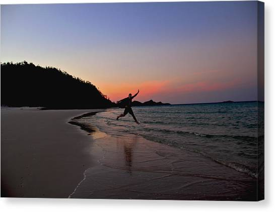 Canvas Print featuring the photograph Exuberance by Debbie Cundy