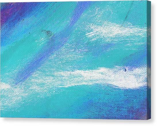 Exuberant Blue Canvas Print by L J Smith