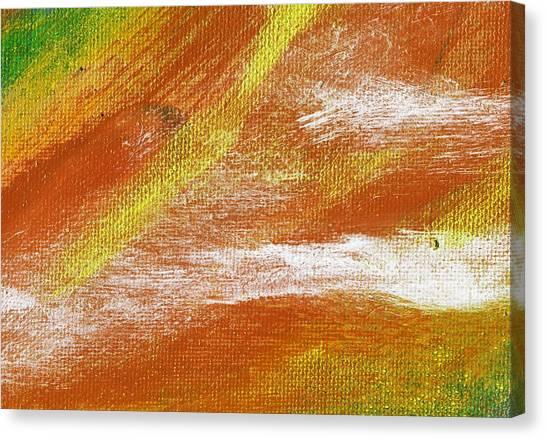 Exuberant Cooper Hue  Canvas Print by L J Smith