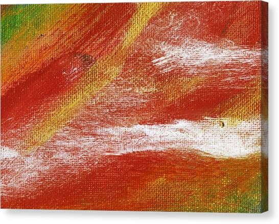 Exuberant Natural Canvas Print by L J Smith