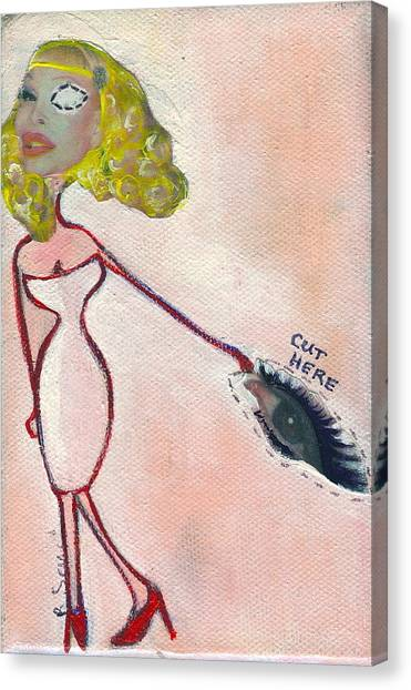 Eye Am Lepore Canvas Print