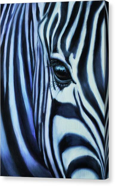 Eye Of Africa Canvas Print