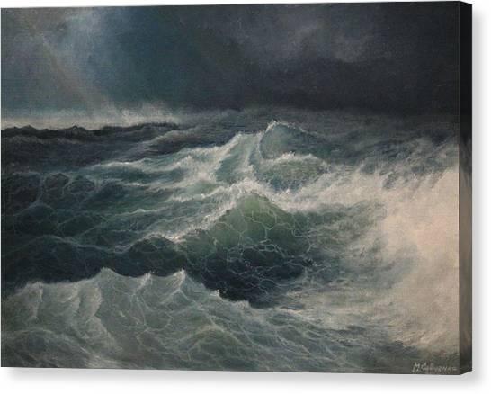 Eye Of Storm Canvas Print