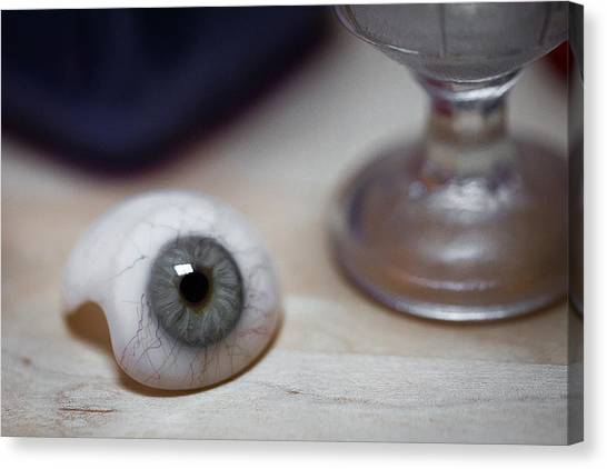 Eye Of The Beholder Canvas Print