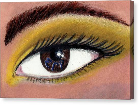 Sigma Gamma Rho Canvas Print - Eye Of The Beholder Series- S G Rho by BFly Designs