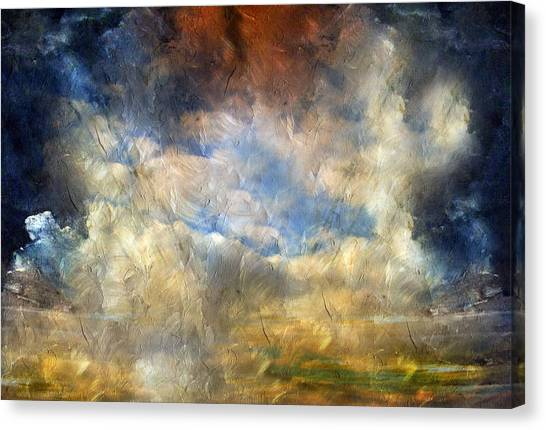 Eye Of The Storm  - Abstract Realism Canvas Print