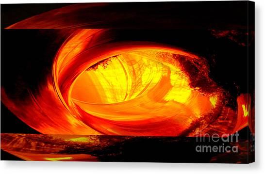 Eye Of The Tube Canvas Print