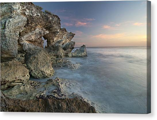 Eye On The Water Canvas Print