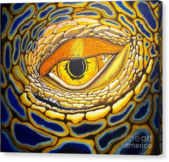Eye On You Canvas Print by Barry Bridges
