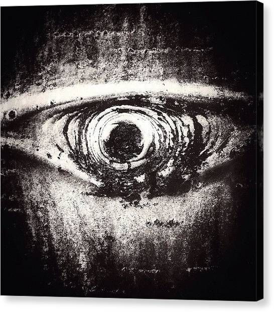 Eye Canvas Print - #eye #spy by Cody Haskell