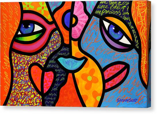 Eye To Eye Canvas Print