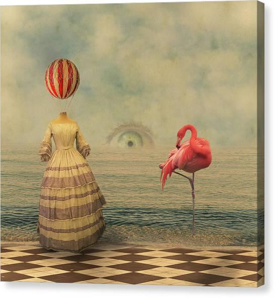 See Canvas Print - Eyeland by Christian Marcel