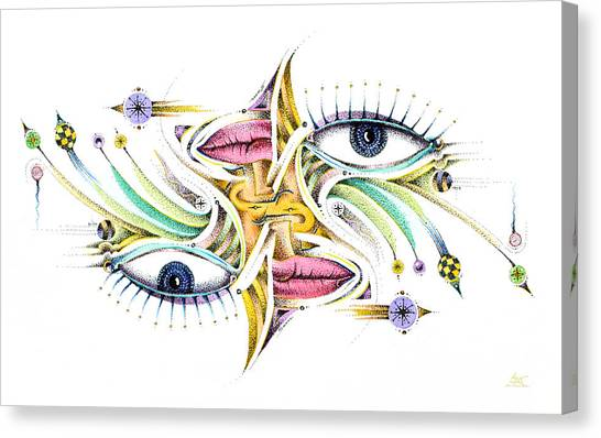 Eyelegan Canvas Print