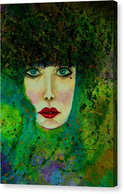 Eyes Of The Forest Canvas Print