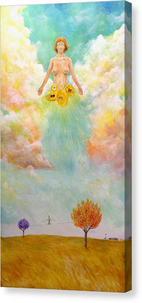 Ezekiel Revisited Canvas Print