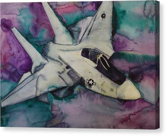 F14 Canvas Print