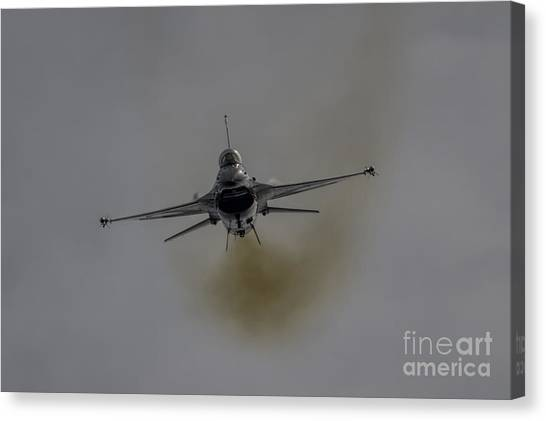 F16 Canvas Print - F16 Viper by J Biggadike