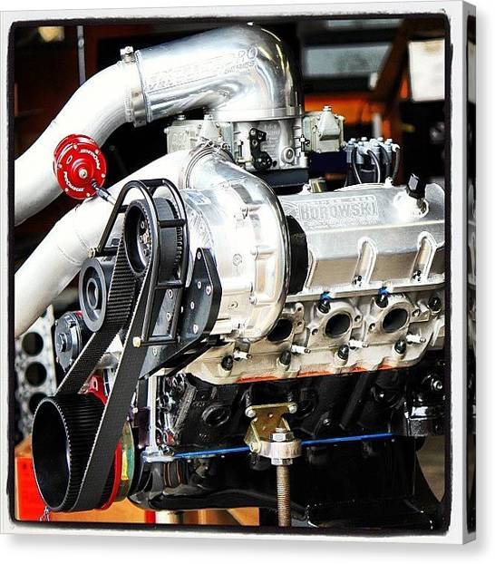 Racing Canvas Print - F2 Procharged 540 Bbc Just Made 1,675 by Borowski Race