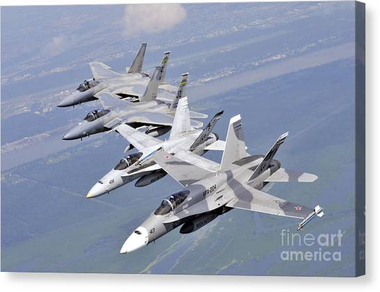 New Orleans Hornets Canvas Print - Fa18 Hornets by Paul Fearn