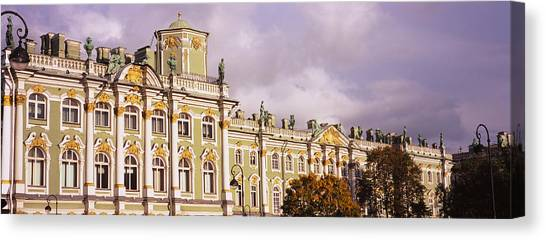 State Hermitage Canvas Print - Facade Of A Palace, Winter Palace by Panoramic Images