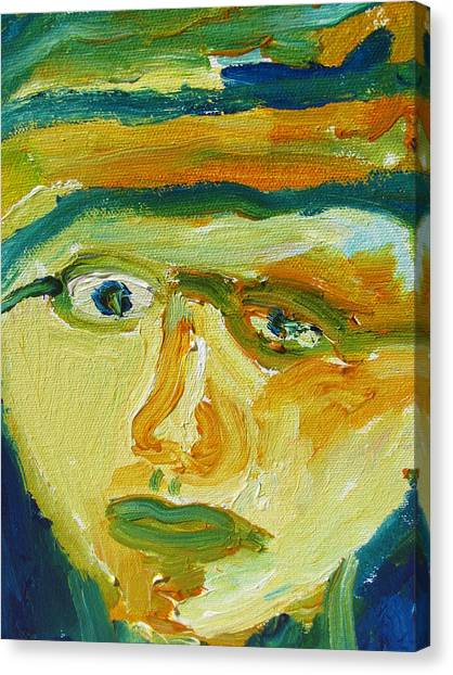 Face Eight Canvas Print