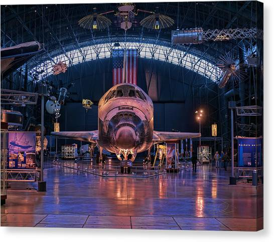Face Of Discovery Canvas Print