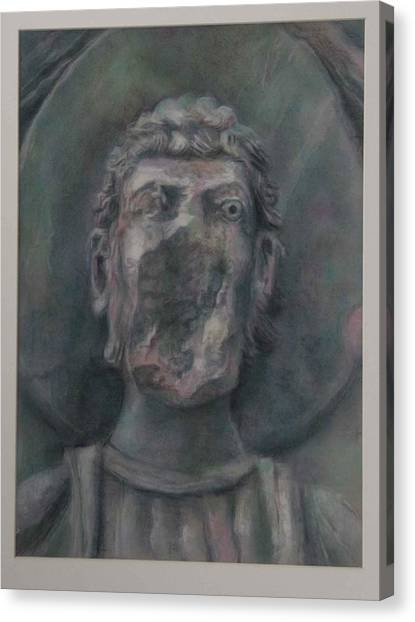 Faceless Saint I  Canvas Print
