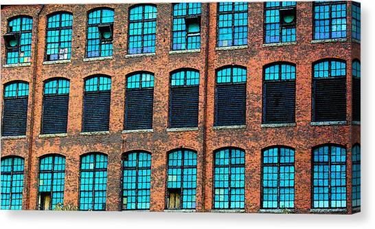 Factory Windows Canvas Print