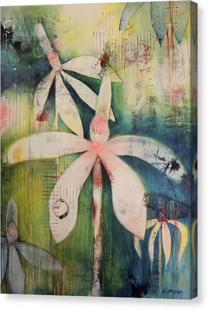 Faerie Fields Canvas Print by Vivian Mora