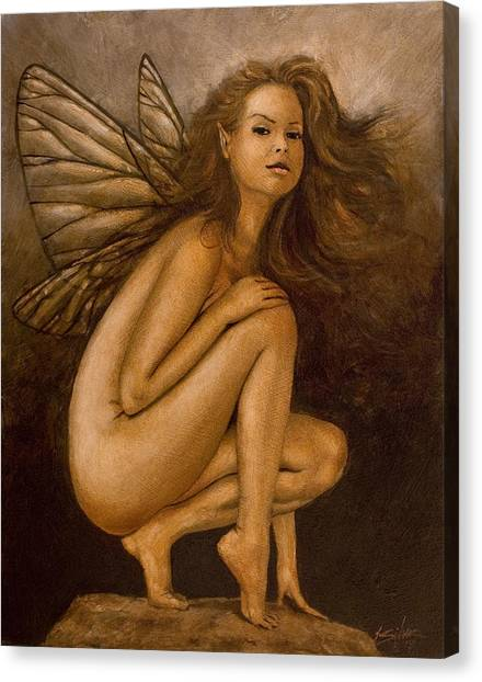 Canvas Print - Faerie Portrait II by John Silver