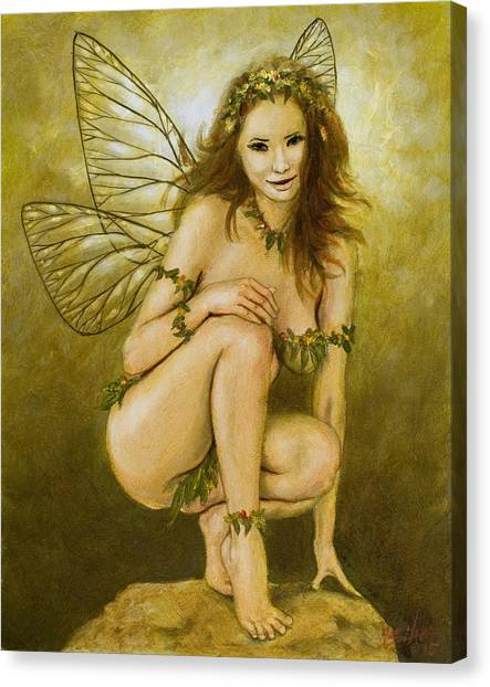Canvas Print - Faerie Portrait IIi by John Silver